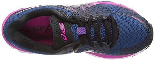 Asics Gel-Nimbus 17 Women's Scarpe Da Corsa - AW15 Blu (Mosaic Blue/Onyx/Pink Glow 5399)