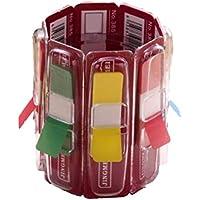 Toyvian Caja de almacenamiento multifuncional del regalo de la pluma de las etiquetas engomadas hermosas creativas Caja de almacenamiento multifuncional del regalo para la oficina escolar casera