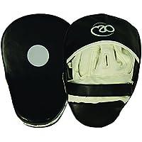 Boxing - Mad - Juego paos de boxeo, sintético curvado, color negro y blanco (2 unidades)