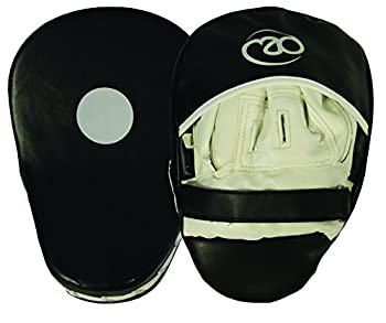 Boxing-mad Curved Synthetic Leather Focus Pads 0