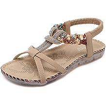 Pastaza Sandalias Bohemia de Mujeres del Verano Las Sandalias Zapatos de Playa