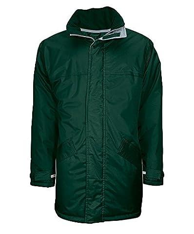 Alexandra STC-NU332BO-XL Winter Parka, Plain, 100% Polyurethane-Coated Polyester, Size: X-Large, Bottle Green