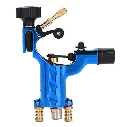 Libelle Rotary Tattoo Motor Liner Shader Tattoo Motor Maschinengewehr Kits Tattoo Makeup Maschine Versorgung Für Künstler 3 Farben(Blau) (Automatisches Maschinengewehr)