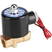 """220V DN10 3/8 \\""""Válvula de solenoide eléctrico Normalmente cerrado de aceite de agua Aire Gas Diesel"""