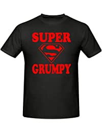 SUPER GRUMPY T SHIRT,MEN'S T SHIRT,SIZES SMALL - XXXL
