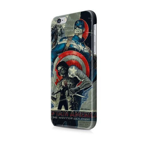 iPhone 5/5S/SE coque, Bretfly Nelson® COLDPLAY Série Plastique Snap-On coque Peau Cover pour iPhone 5/5S/SE KOOHOFD918847 COMICS BUCKY VS THE WINTER SOLDIER - 021
