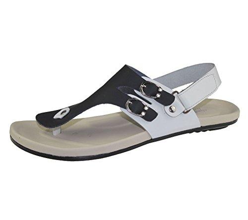 Herren veclro Sandalen Casual Beach Fashion Walking Slipper flip flop Schwarz