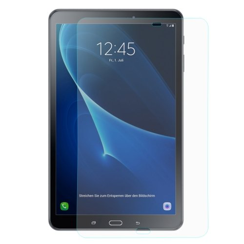 jbTec® Display-Schutz-Glas 9H passend für Samsung Galaxy Tab A 10.1 2016 / SM-T580 LTE/SM-T585 - Tempered Glass Screen Protector Verbundglas Displayfolie 10.1 Screen Protector