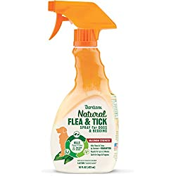 TROPICLEAN 0645095160026 - Flea and Tick Spray for Pets 473 ml