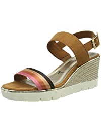 59b010433f09 Tamaris Women s 1-1-28047-32 441 Ankle Strap Sandals