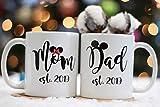 Best Mom Dad Mugs - Pepronica - Mom and Dad Mug Set, Mom Review