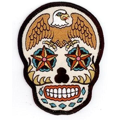 Sunny Buick - Stars DIamonds Eagle Sugar Skull - 2.5