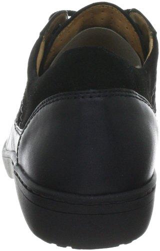 Ganter Anke Weite G 4-205081, Chaussures à lacets femme Noir-TR-E1-473