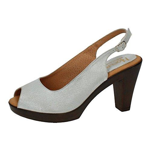 NOELIA , sandales femme Argent