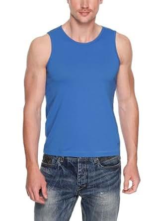 s.Oliver - 13.404.33.7303 T-Shirt Homme - Bleu (ultramarin blue 5532) - FR : Medium (Taille fabricant : Medium)