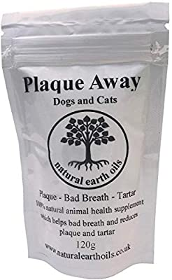 Plaque Away - Bad Breath & Tartar Removal from natural earth oils