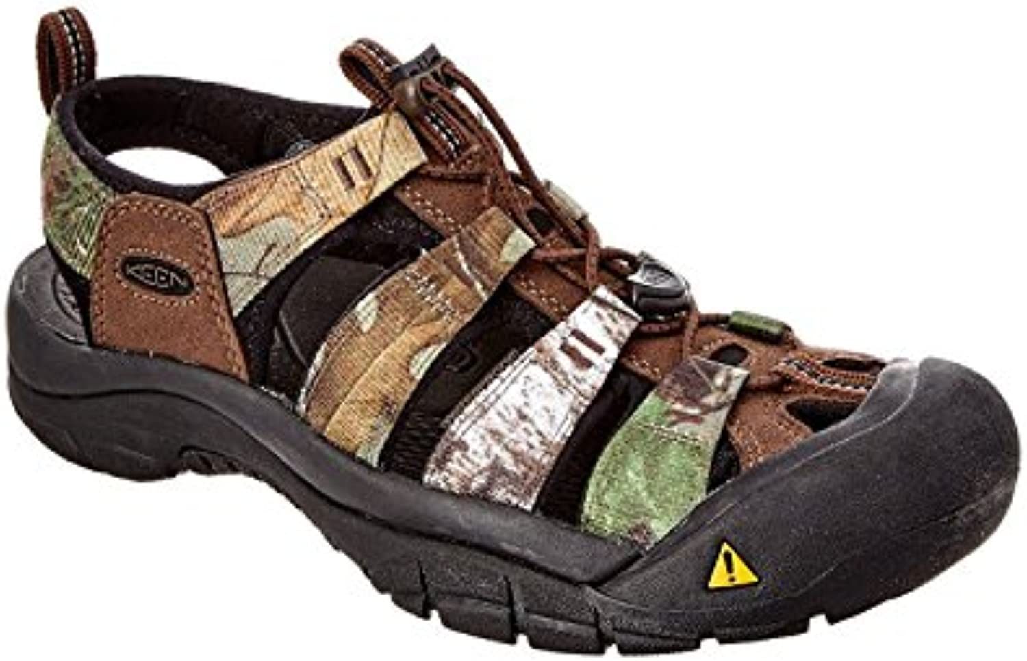 KEEN Men's Newport H2 Sandal, Realtree/xtra Green, 44.5 D(M) EU/10 D(M) UK