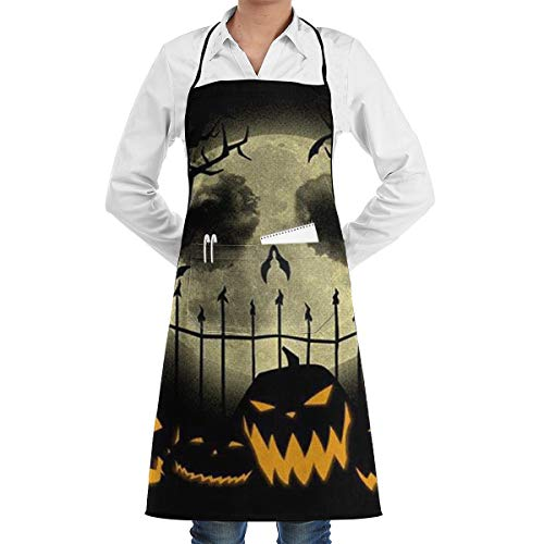 Mark Stars Dekorativer Albtraum vor Weihnachten Halloween, das Backen-Garten-Chef Apron Kitchen BBQ kocht (Beauty Halloween Bar Nyc)