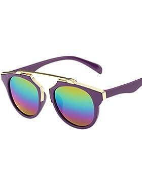 Gafas modas Lonshell Gafas de sol de protección UV para niños niñas Bebé 7 colores Arco iris Gafas bonitas 3 años...