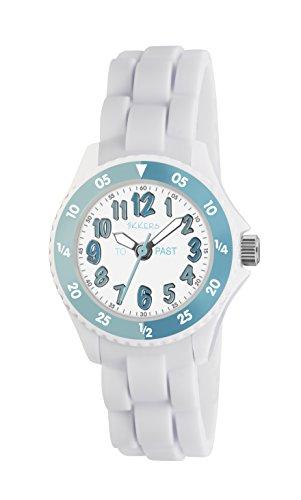 Tikkers Mdchen Analog Quarz Uhr mit Silikon Armband TK0118 -
