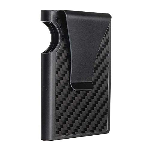 DyNamic Carbon Fiber Flip Card Holder Credit Card Holder Edc Gadget