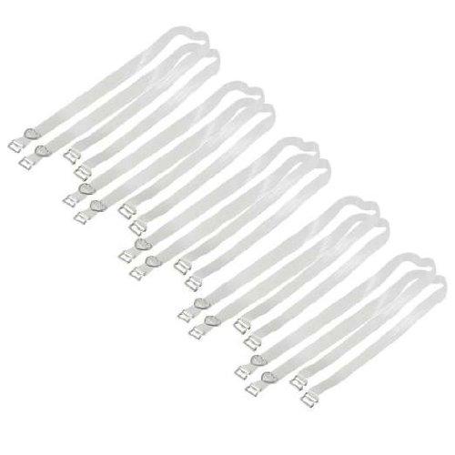 Sodial (r) spalline reggiseno trasparenti invisibili regolabile per donna
