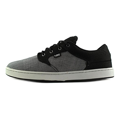 DVS Apparel Quentin, Chaussures de Skateboard Homme Noir/gris