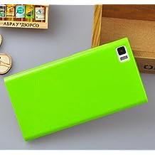 """Prevoa ® 丨 Silicona Funda Cover Caso Para Xiaomi Mi3 Mi3s M3 5.0"""" Smartphone - Verde"""