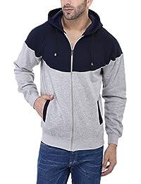 Weardo Men's Designer Hooded Sweatshirt with Zipper