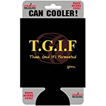 """T.G.I.F Can Cooler, Officially Licensed Products - 5.5"""" x 4"""" - High Quality CAN COOLER"""