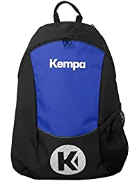 Kempa 200490604, Mochila Unisex Adulto, (Negro/Azul Royal), 24x36x45 cm
