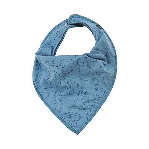 Minymo Minymo Halstuch mit Waldtieren blau