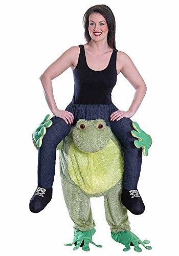 Huckepack Kostüm Frosch Carry Me Kostüm Lustiges Karnevalskostüm Trag mich Faschingskostüm Junggesellenabschied Verkleidung Herren JGA - Carry Me Kostüm