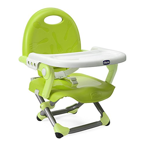 Chicco 00079340550000 pocket snack rialzo sedia, lime