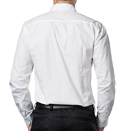 72 Off On Oshano Mens Casual White Full Sleeves Button
