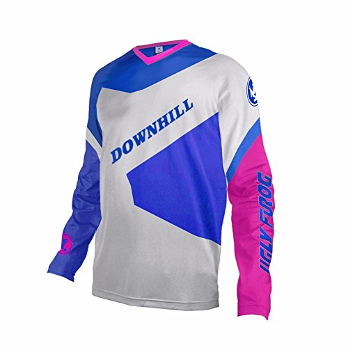 Uglyfrog Bike Wear Atmungsaktiv Trendy Herren Downhill/MTB Jersey Mountain Bike Shirt Fahrradtrikot Langarm Freeride BMX Fr¨¹Hling Top MF09