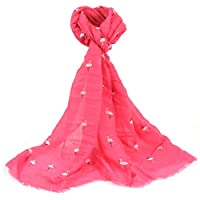 Flamingo Scarf - Hot Pink