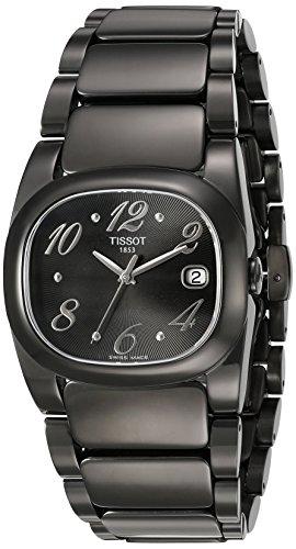 Tissot T-Moments T 0093101105701 - Reloj de mujer de cuarzo, correa color negro