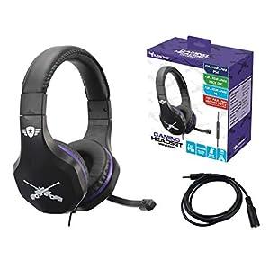 Subsonic X-Storm Gaming Headset-Kopfhörer Klinkenanschluss