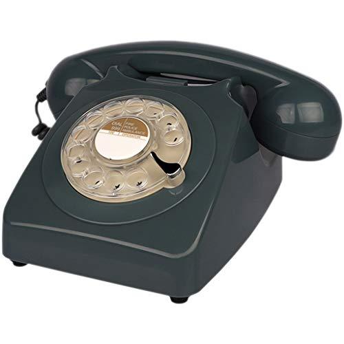 Rotary Telefon Rotary Telefon Home Office Hotel Festnetzanzeige für Office Home Wohnzimmer Dekor, wunderbare Geschenk (Farbe : B)