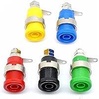 willwin paquete de 10unidades 4mm Banana Plug/Jack/Socket Cable conector Banana Enchufe de seguridad