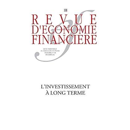 L'investissement à long terme (Revue d'économie financière)