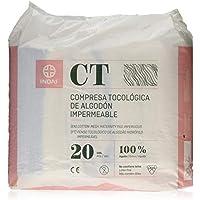 Indasec Maternity Compresa Tocológica Algodón Impermeable - 20 Piezas