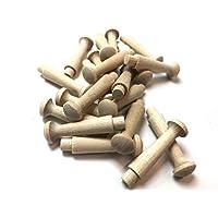 """Birch Shaker Peg 1 3/4"""" - Pack of 20"""