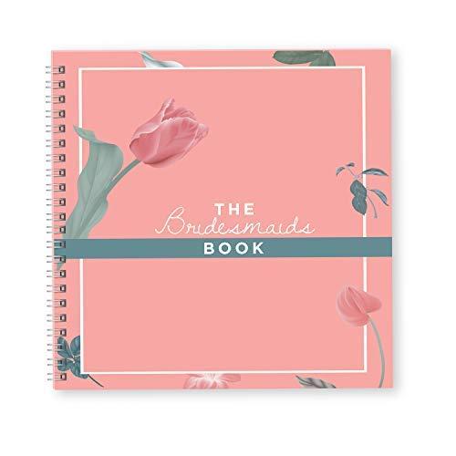 Bridesmaid Wedding Planner Libro e organizzatore | Pianificare il matrimonio perfetto | Idee regalo per le damigelle | Migliori wedding planner per il tuo migliore amico Big day (rosa)
