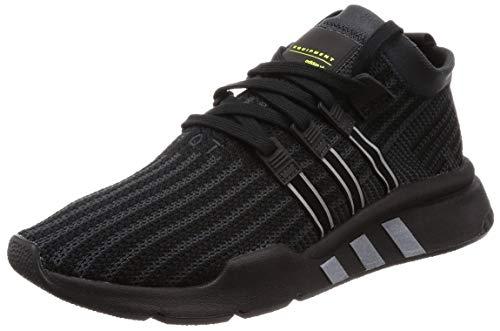 Adidas EQT Support Mid ADV Primeknit Black Carbon Solar Yellow 43