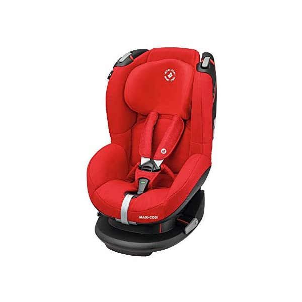 Maxi-Cosi Tobi Toddler Car Seat Group 1, Forward-Facing Reclining Car Seat, 9 Months-4 Years, 9-18 kg, Nomad Red Maxi-Cosi Forward facing group 1 car seat suitable for children from 9 to 18 kg (approx. 9 months to 4 years) Install with a 3-point car seat belt, with clear and intuitive seat belt routing High seating position allows toddler to watch outside the window 1