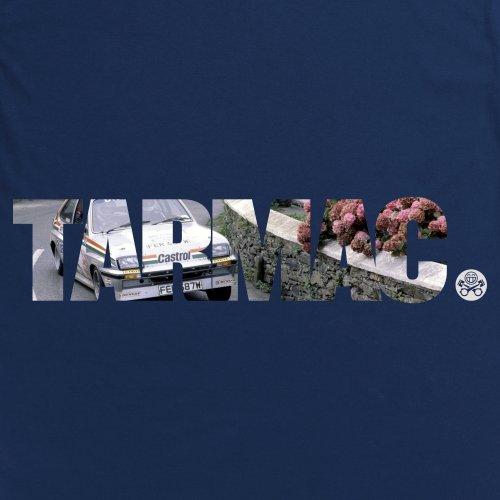 PistonHeads Tarmac T-Shirt, Herren Dunkelblau