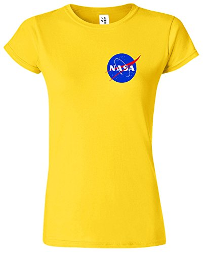 Nasa National Space Packet Pocket America Dames T Top T-Shirt Marguerite