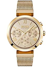 ed2925ce6fd Hugo BOSS Womens Analogue Classic Quartz Watch with Stainless Steel Strap  1502425